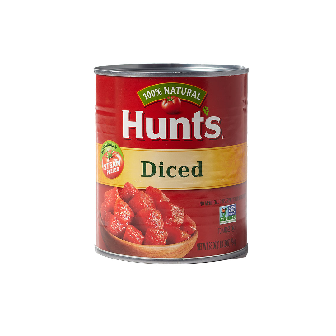 Hunt's canned tomatoes diced