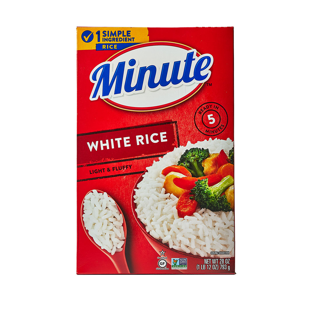 Minute Rice package
