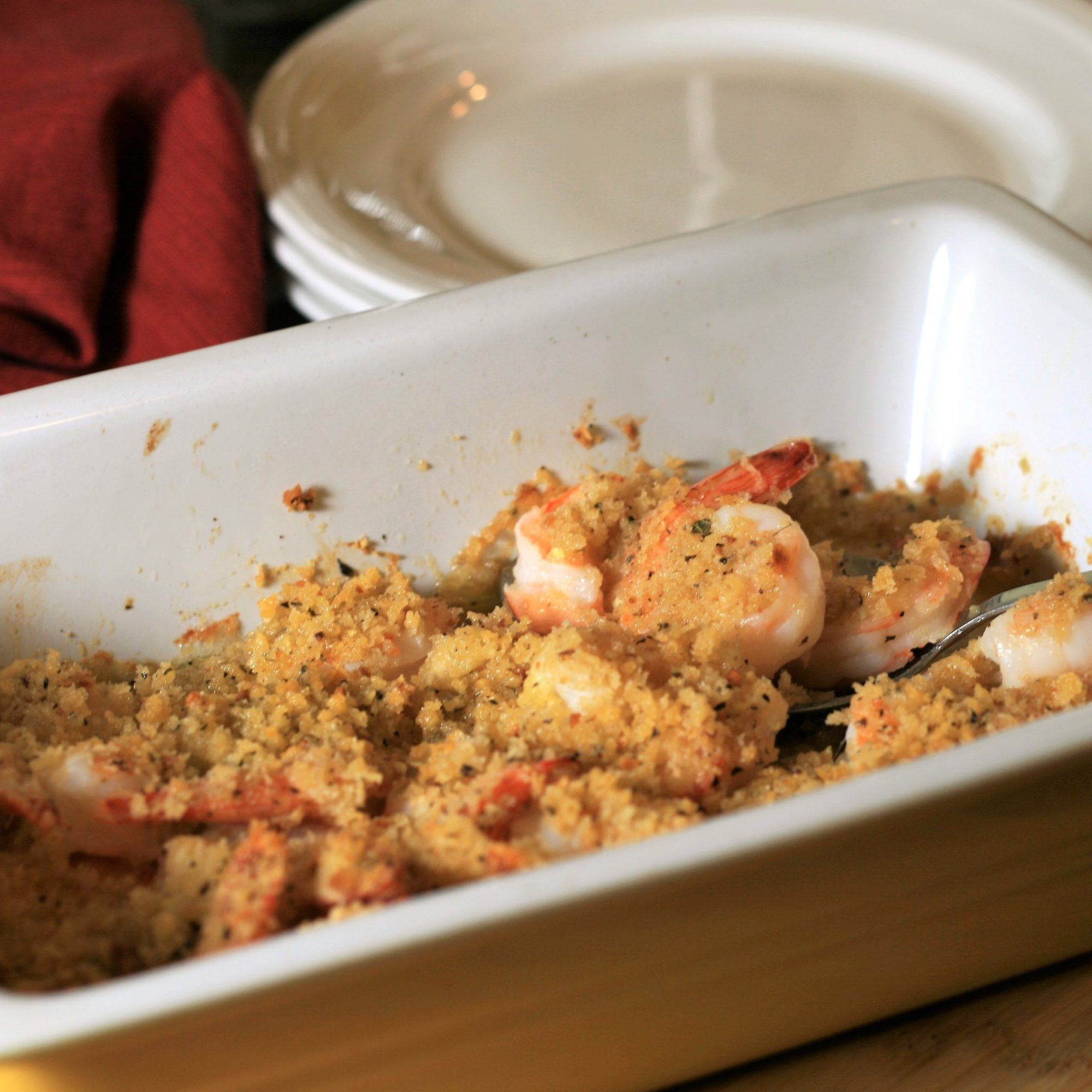 Garlic Parmesan Baked Shrimp