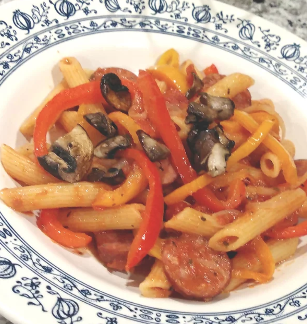 Sausage and Pepper Penne