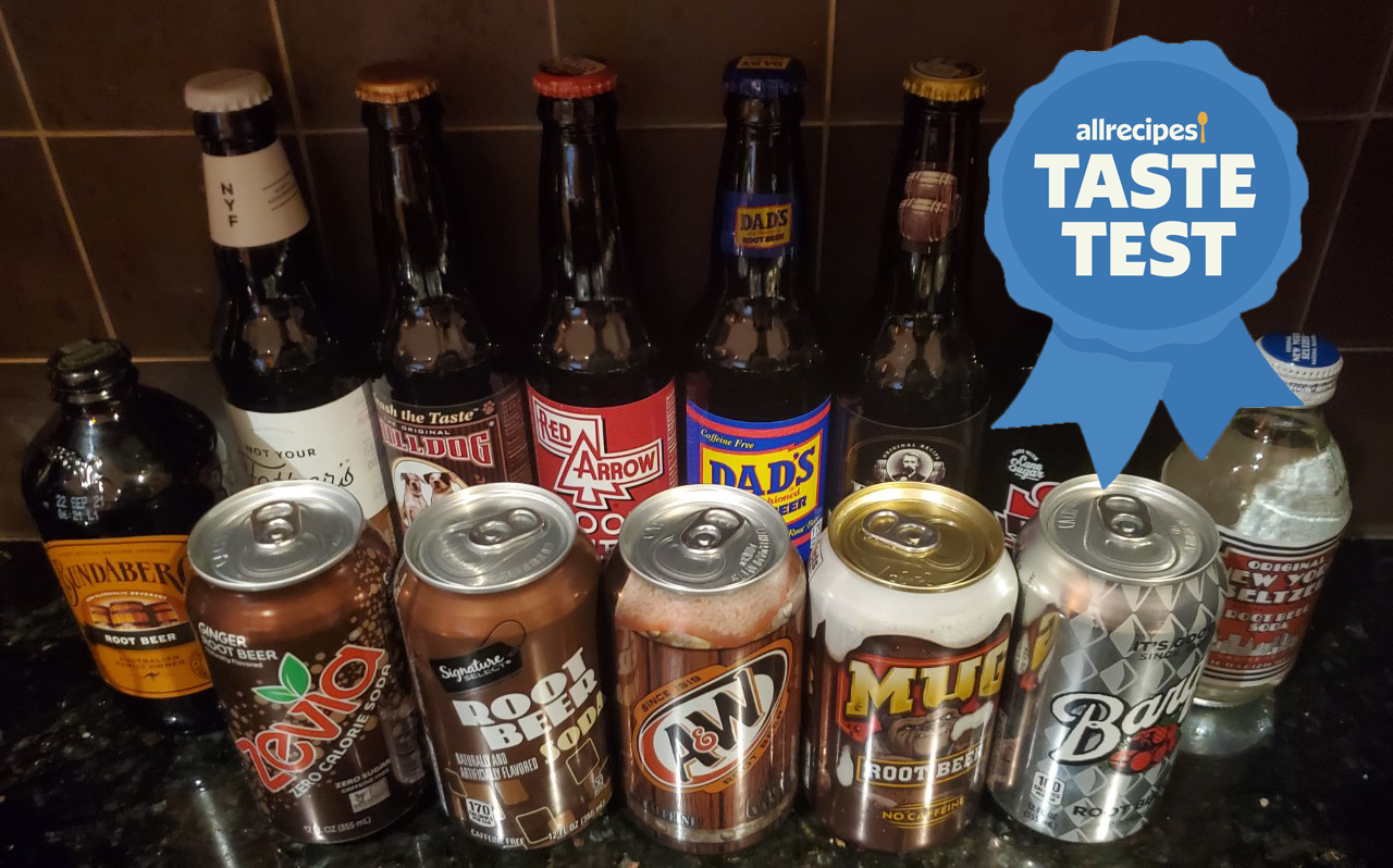 every root beer we tasted for the taste test