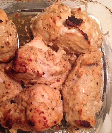 Middle Eastern Yogurt Chicken
