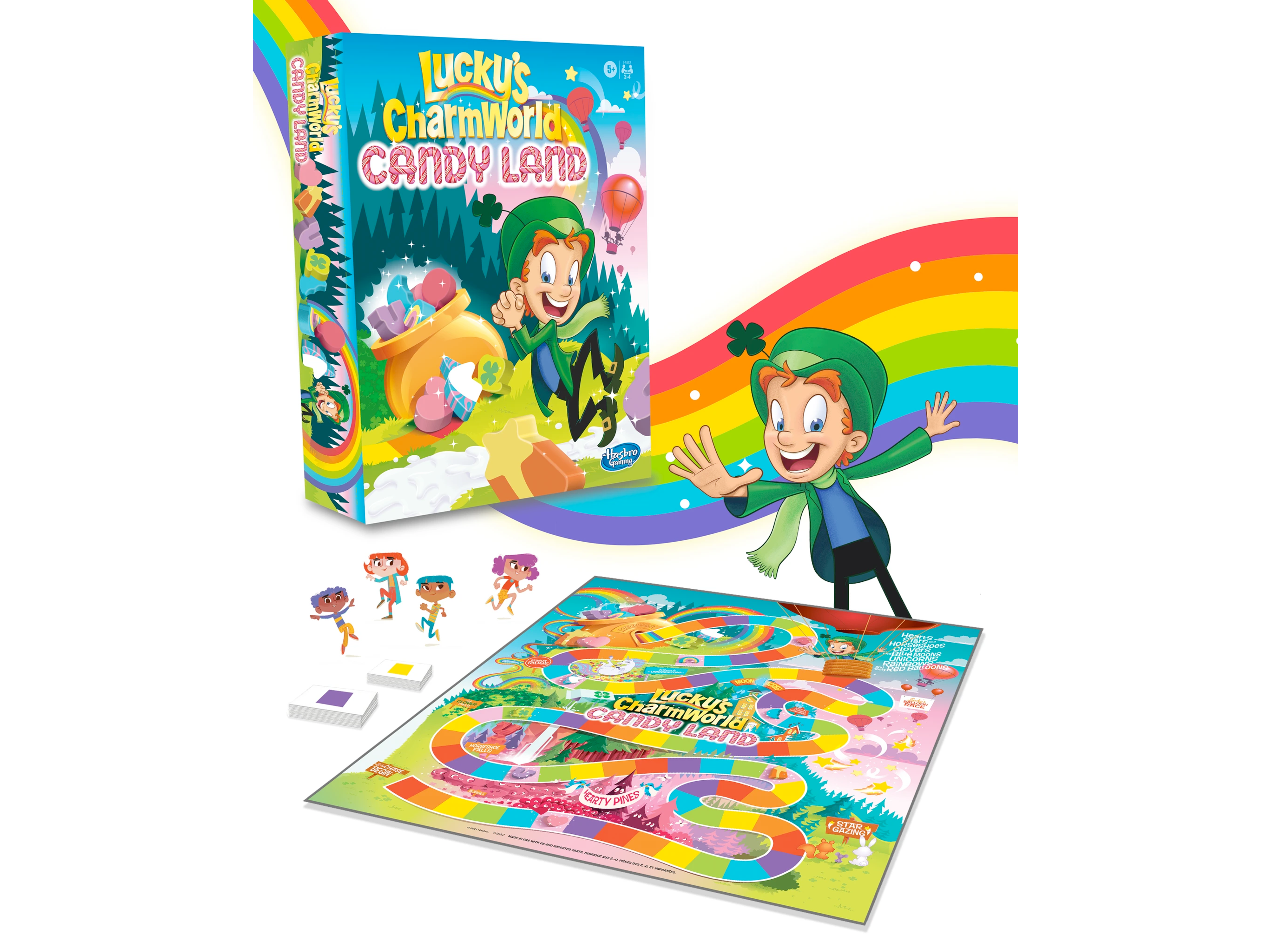lucky charms candyland game
