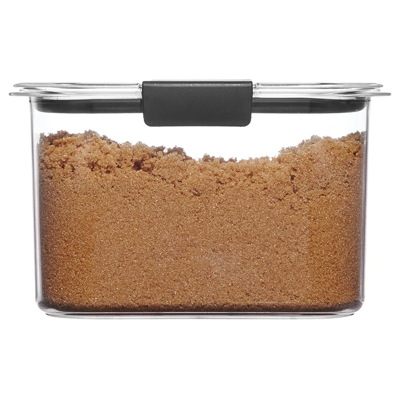 Rubbermaid Container, BPA-Free Plastic, Brilliance Pantry Airtight Food Storage, Open Stock, Brown Sugar