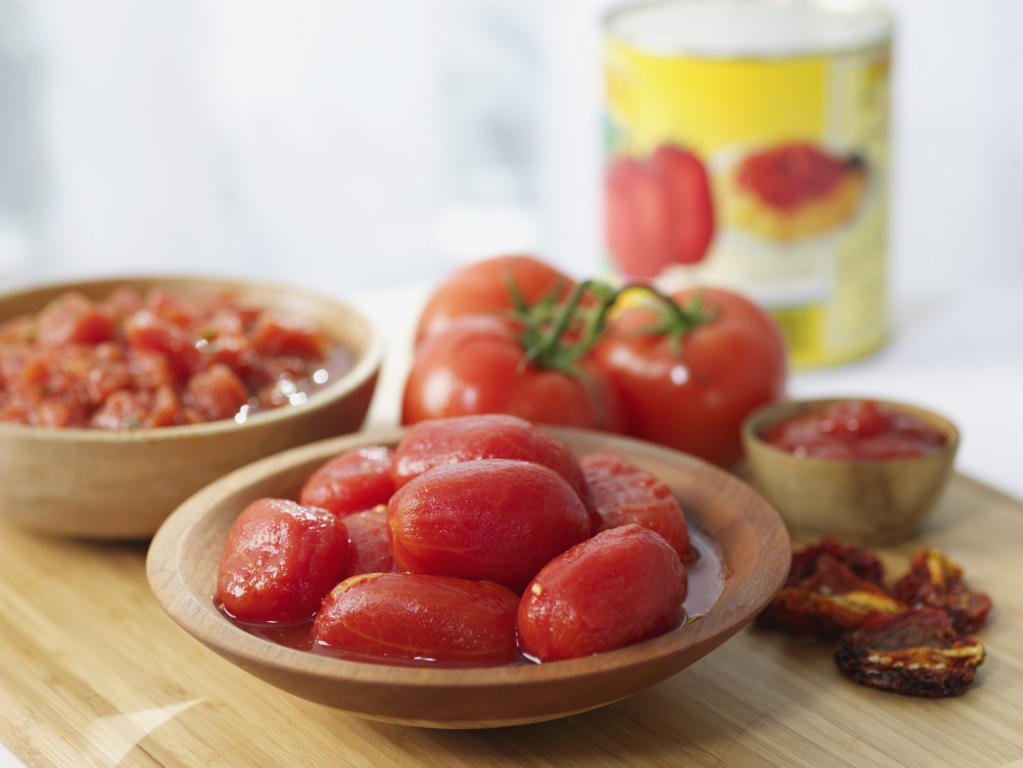 Assorted tomato products