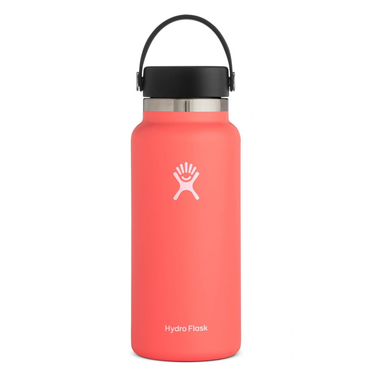 32 ounce hydro flask water bottle hibiscus