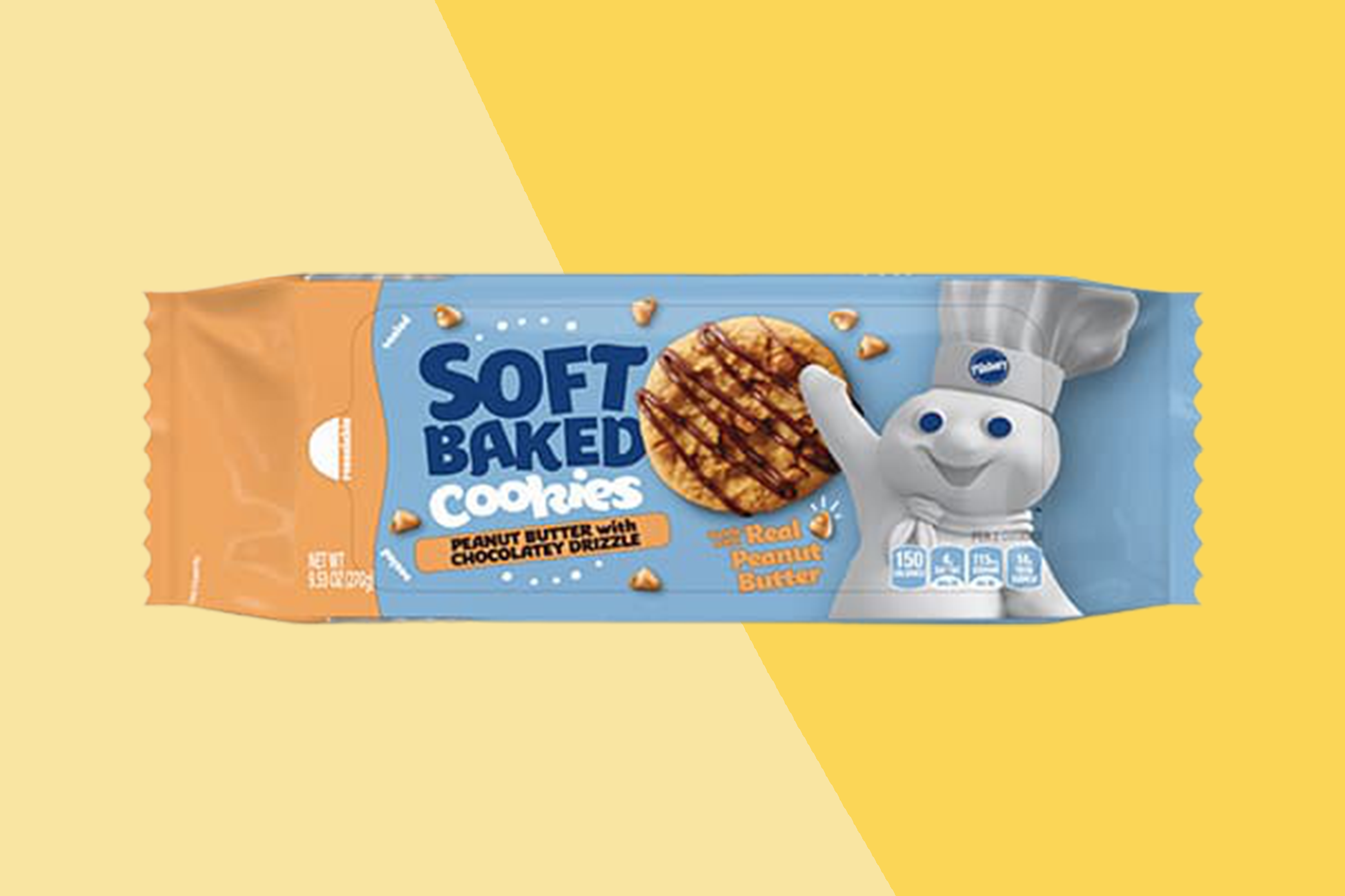 pillsbury soft baked cookies in peanut butter chocolate chip