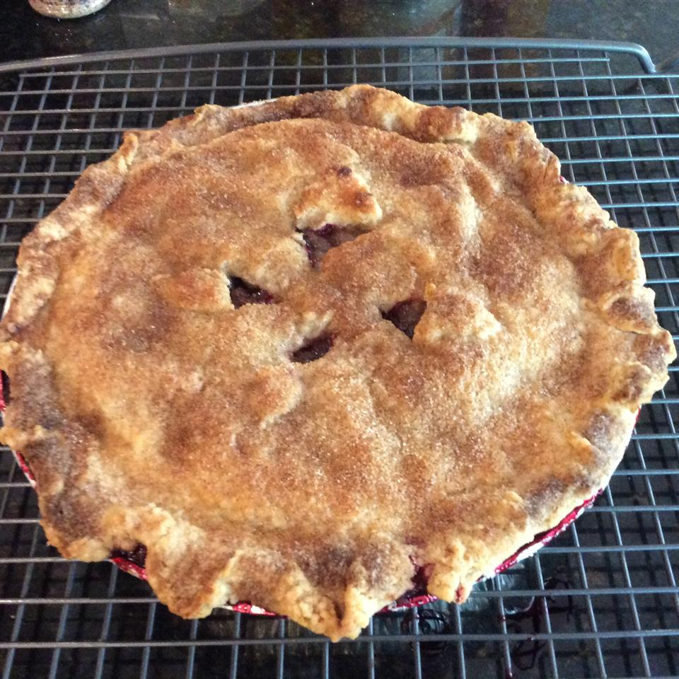 Huckleberries are the state fruit of Montana, so it's no wonder the folks in Big Sky Country are a fan of their state's first fruit in pie form. If you've never had a huckleberry, the flavor is sweet with a hint of sour, much like a blueberry, but they're not quite the same.