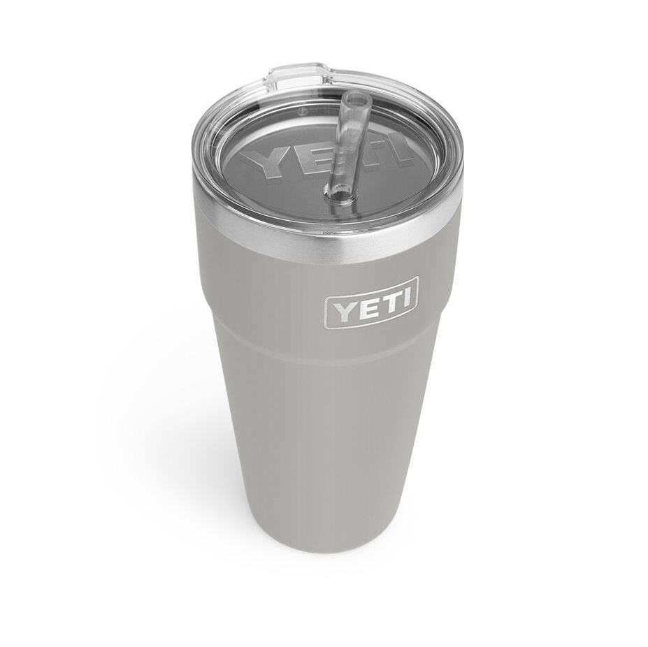 Yeti Rambler 26-Ounce Stackable Cup With Straw Lid