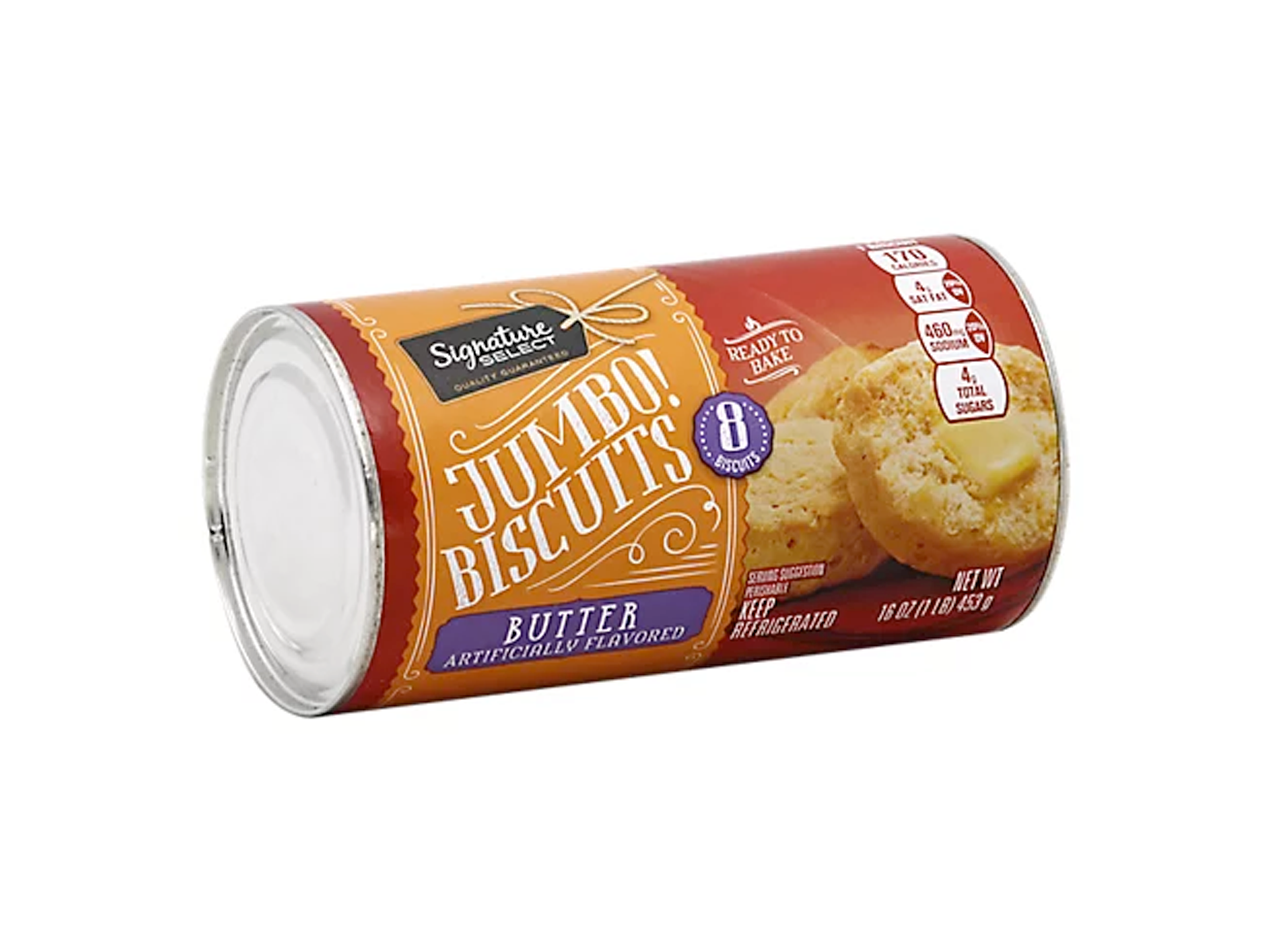 signature select jumbo biscuits in a can