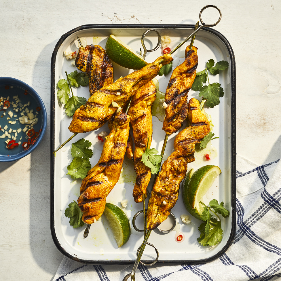 Thai Grilled Chicken with Sweet Chile Dipping Sauce