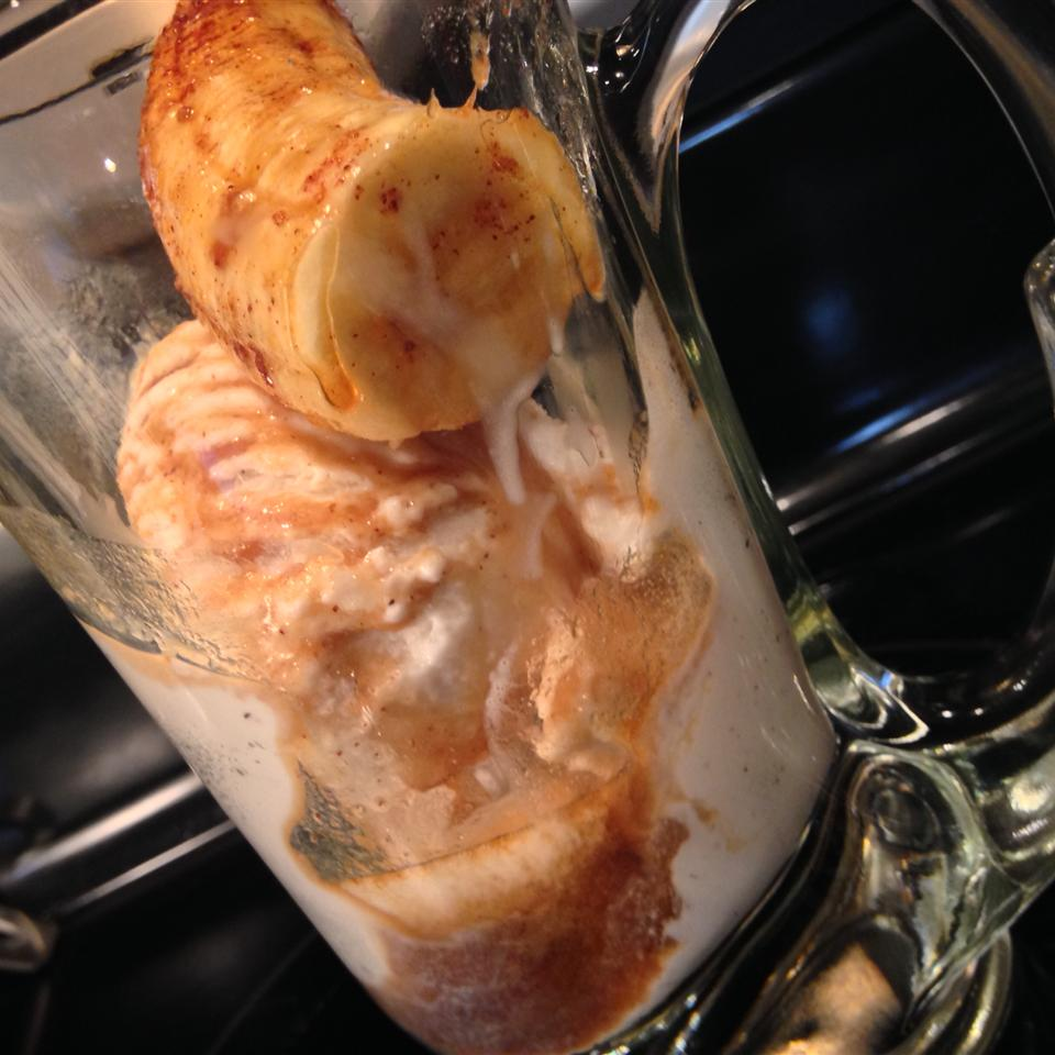 This cookout-friendly version of bananas foster is ready in half the time. You could also switch out the coffee liqueur for another flavor if you want a twist.
