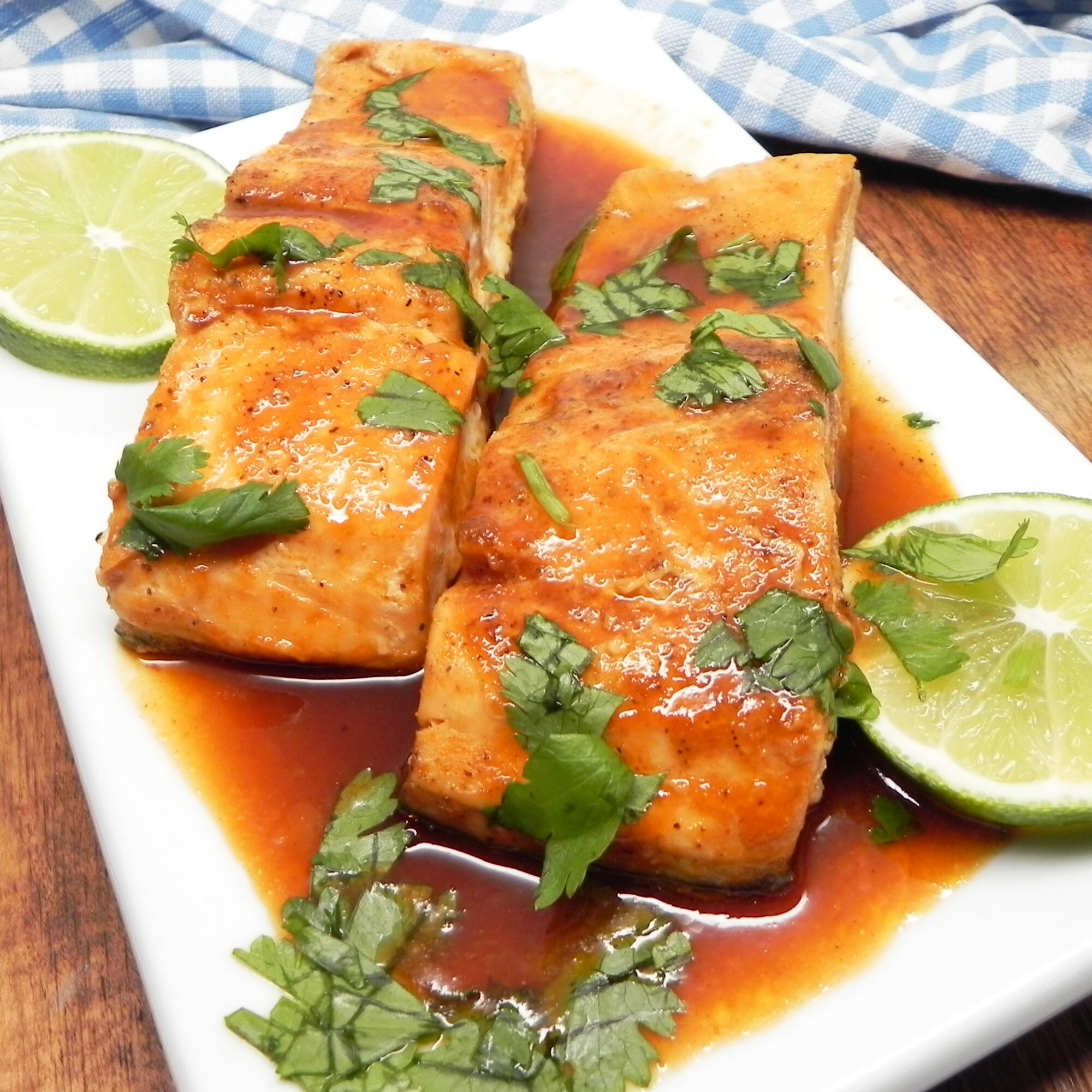 10 recipes for salmon with honey and soy sauce