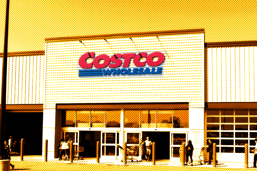 costco store but yellow