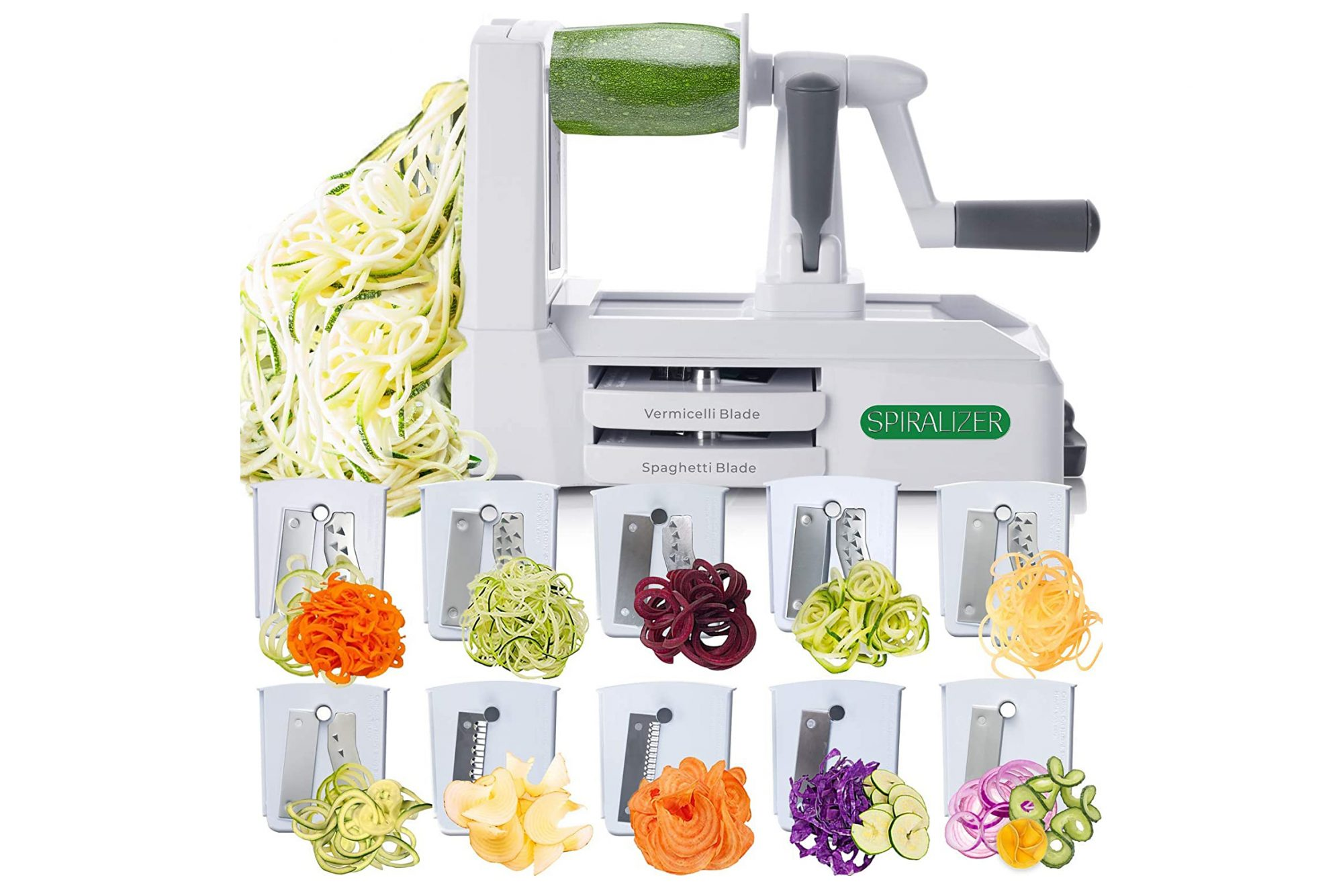 Spiralizer Ultimate 10 Strongest-and-Heaviest Duty Vegetable Slicer