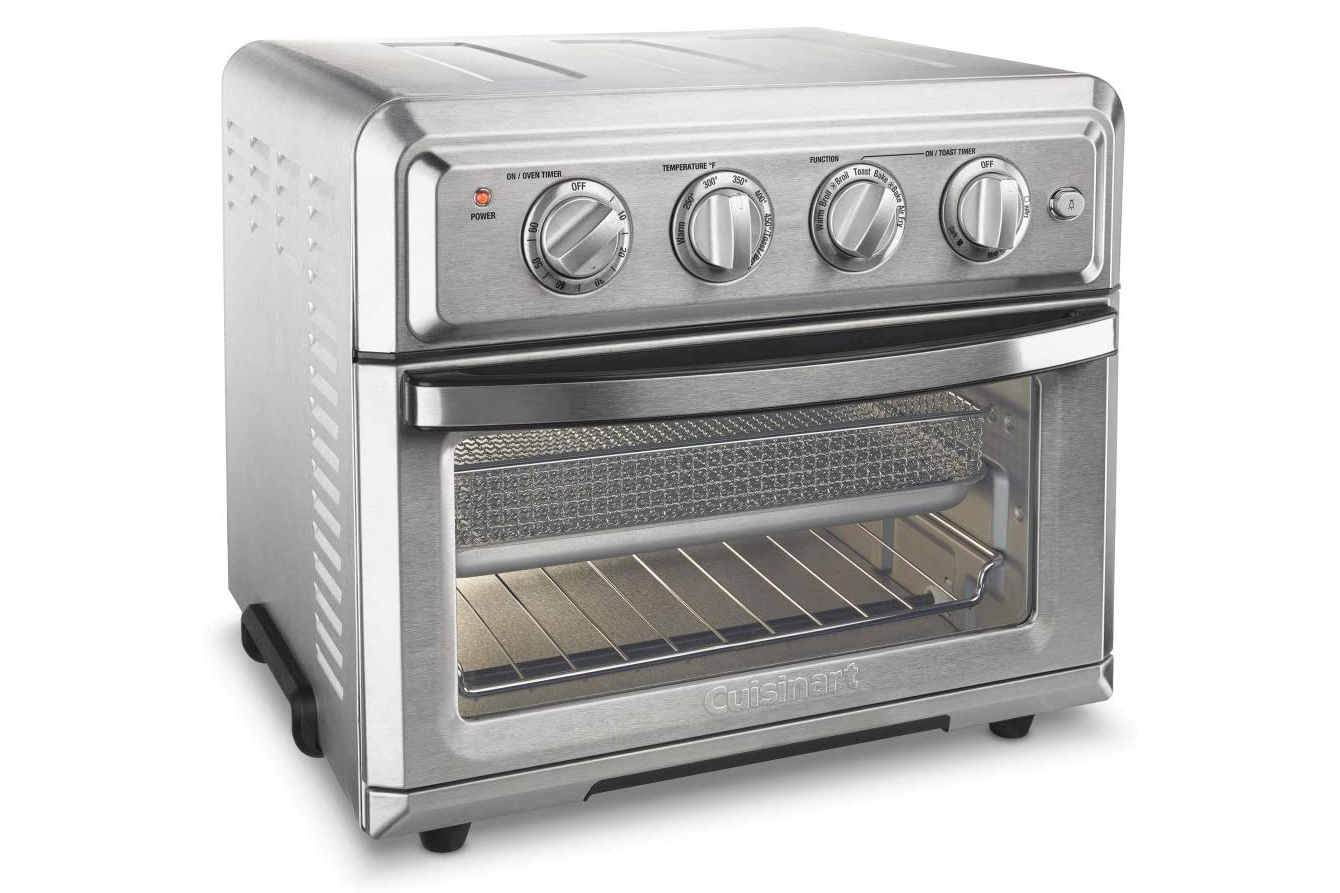 Cuisinart TOA-60 Convection Toaster Oven Airfryer on white background