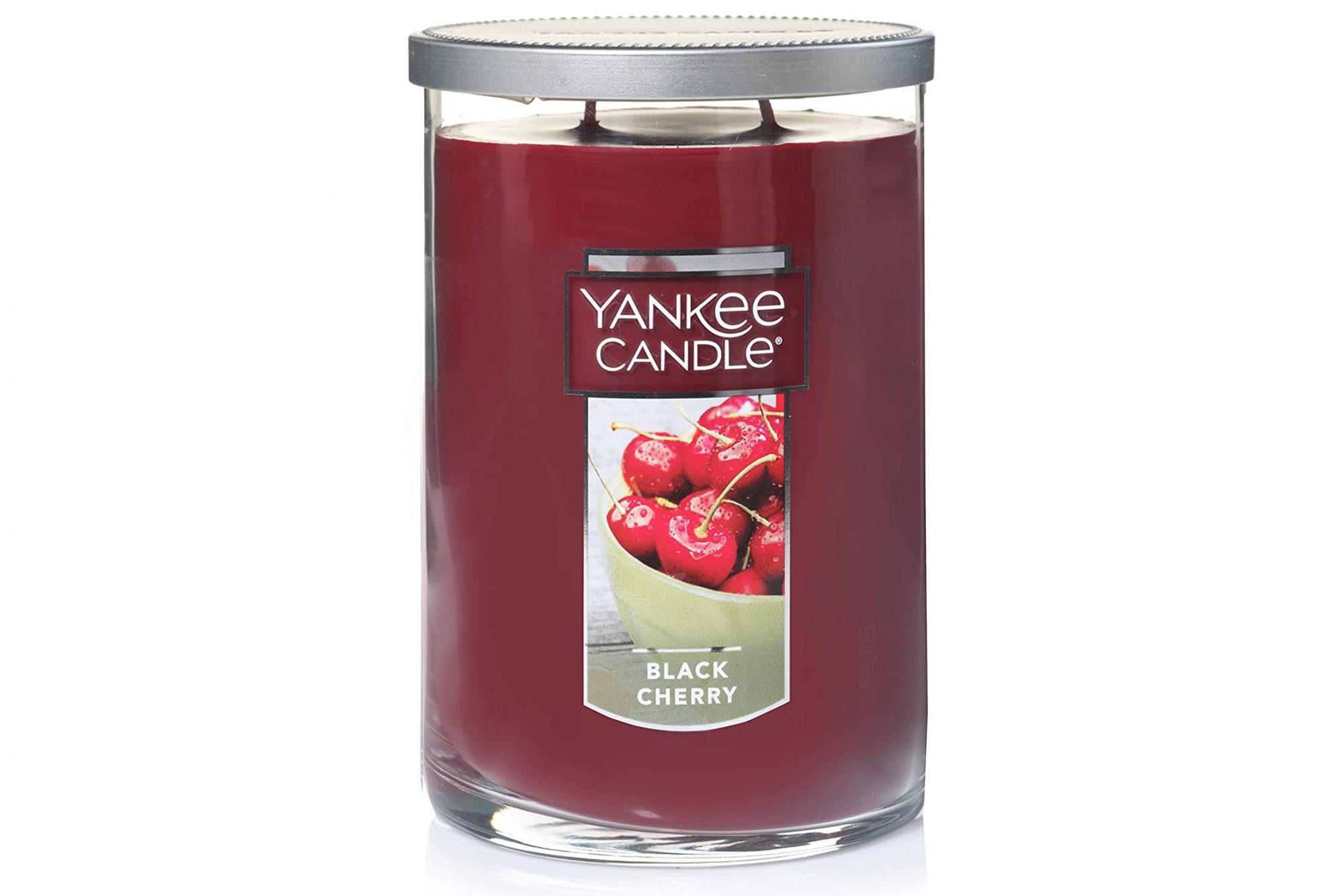 Yankee Candle Large Jar 2 Wick Black Cherry Scented Tumbler