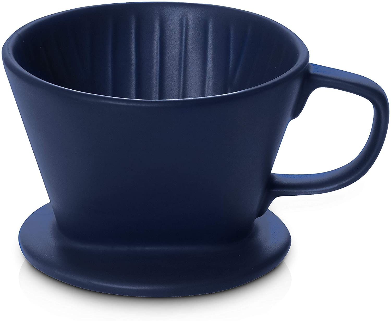 coffee pour over navy bliue