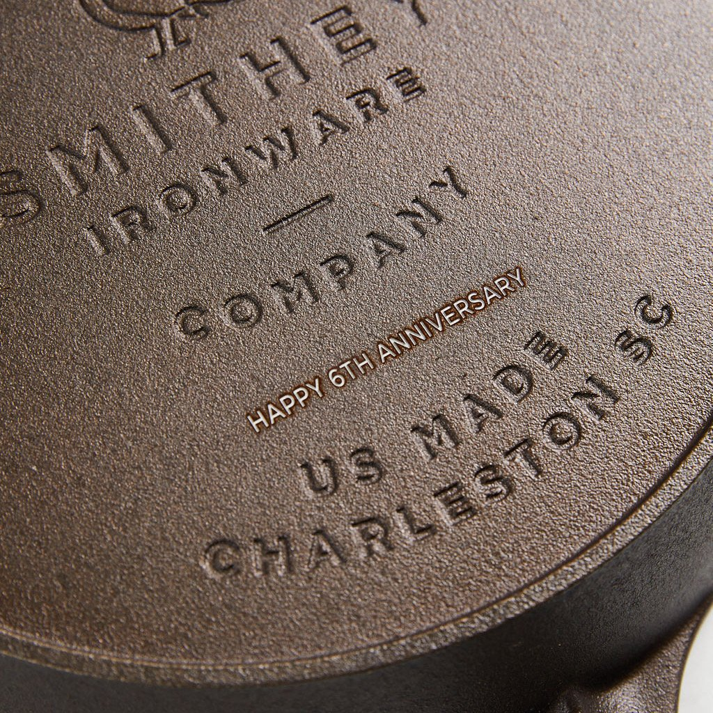 Personalized No. 12 Cast Iron Skillet