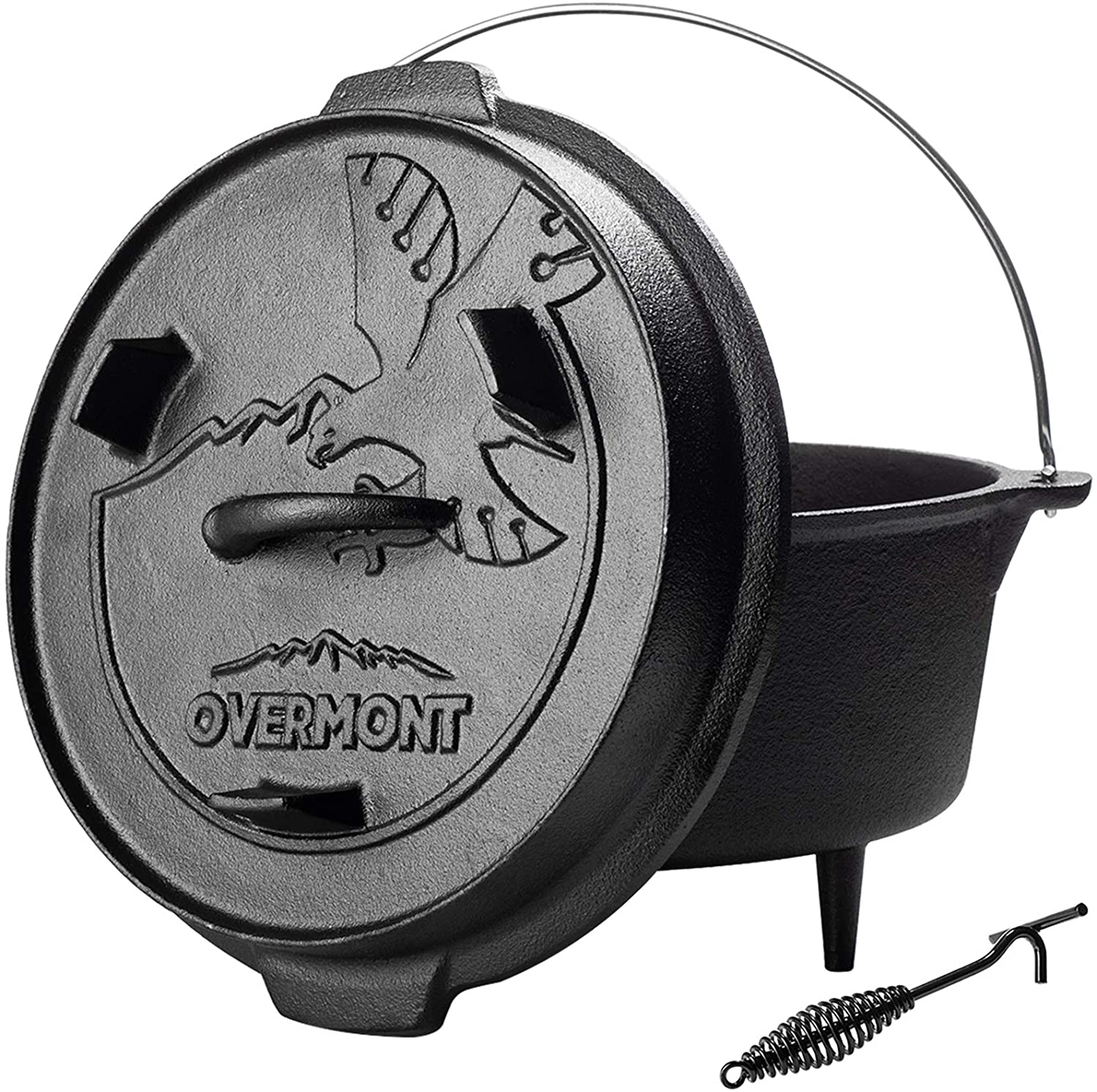 cast iron Dutch oven for camping