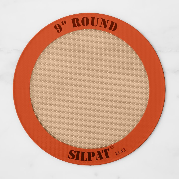 """Silpat Silicone Round Cake Liner, 9"""""""