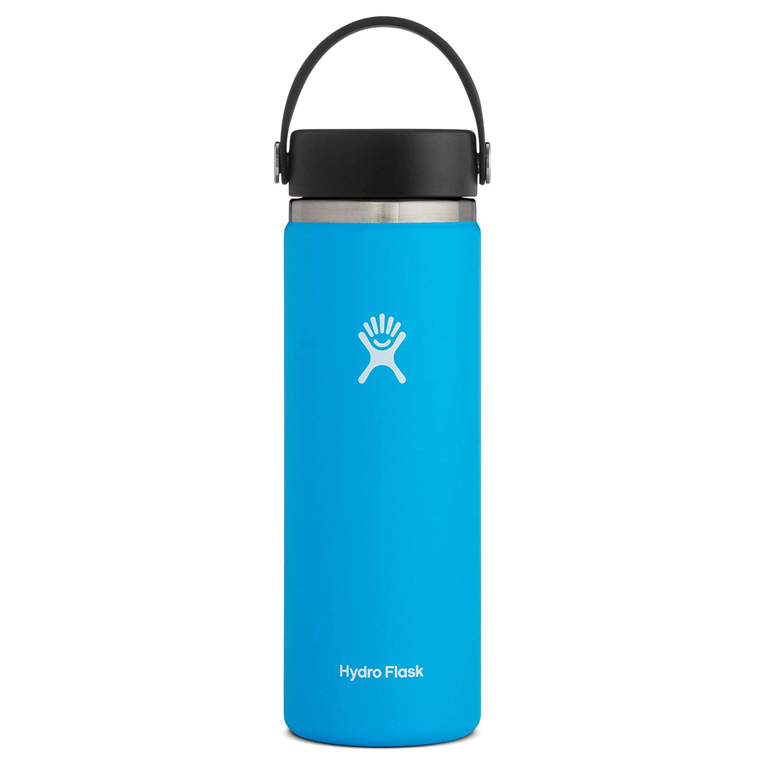 Straw and Wide Mouth Mama Bear 32 ounce Powder Coated Water Bottle w//Flip Lid