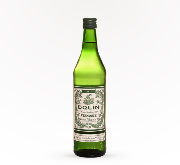 dry vermouth in green bottle