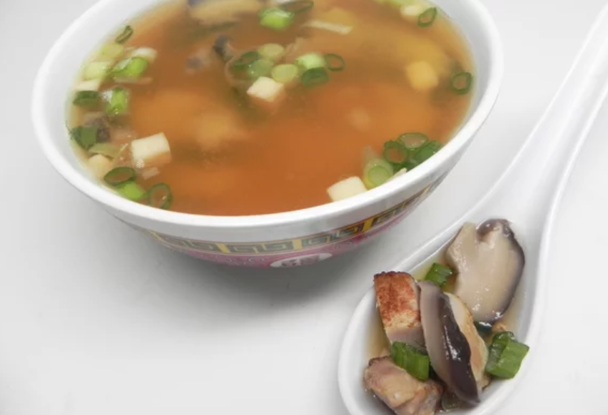 """""""Very tasty soup,"""" raves 5-star reviewer Kylie. """"This was one of my first attempts at using miso. This was easy to make and quite good!"""" Substitute tofu for chicken if you're looking for a vegan option."""