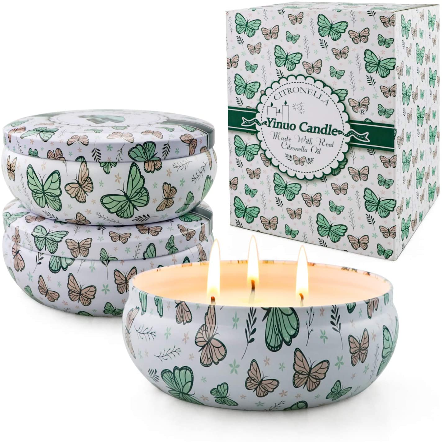 gisly citronella candle and box