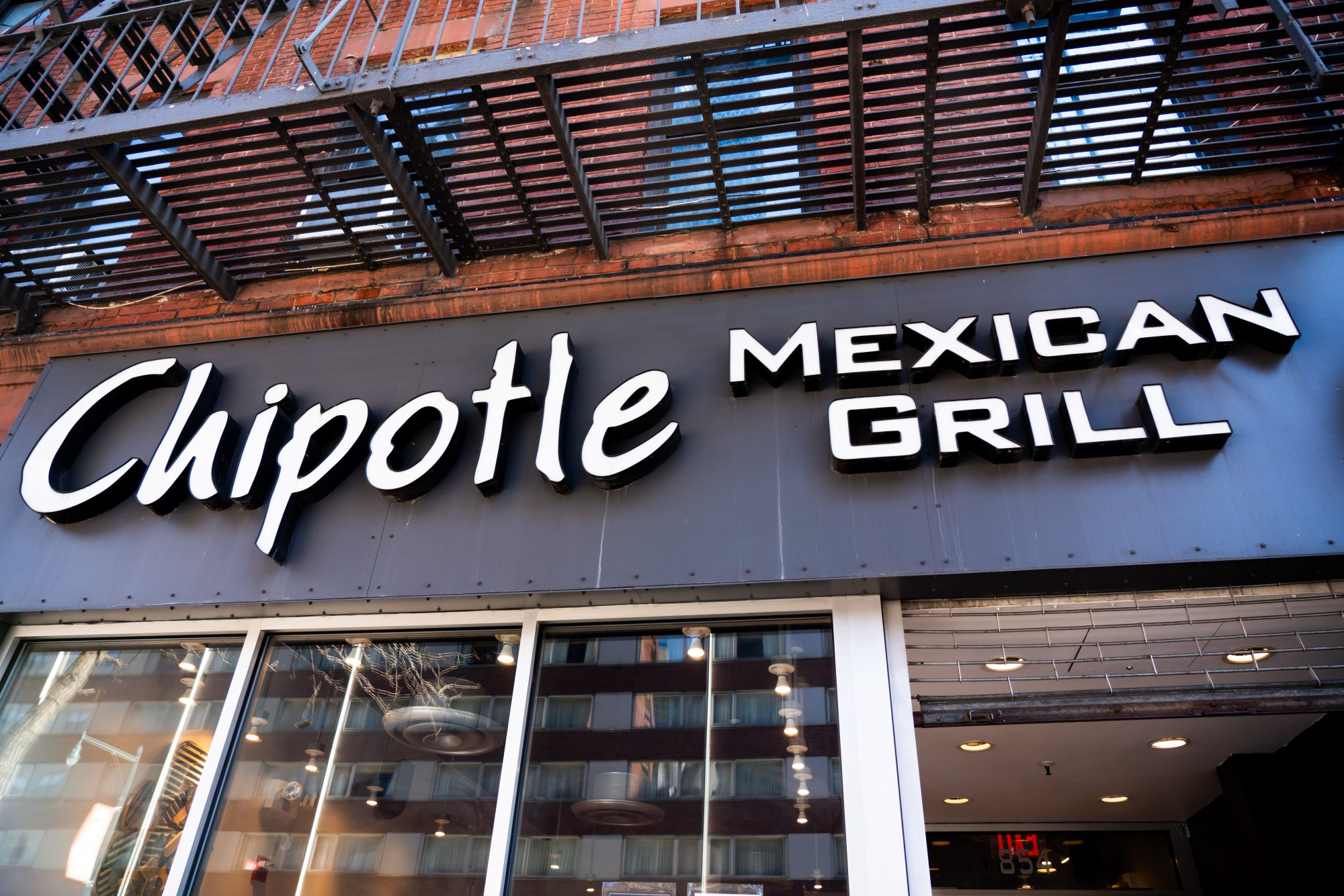 American fast casual restaurants chain, Chipotle Mexican