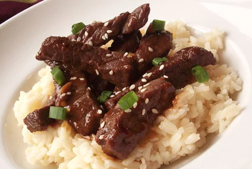 This top-rated Mongolian beef takes just a few minutes to cook on the stove. Recipe creator Ang suggests serving with rice and veggies for family dinner night.