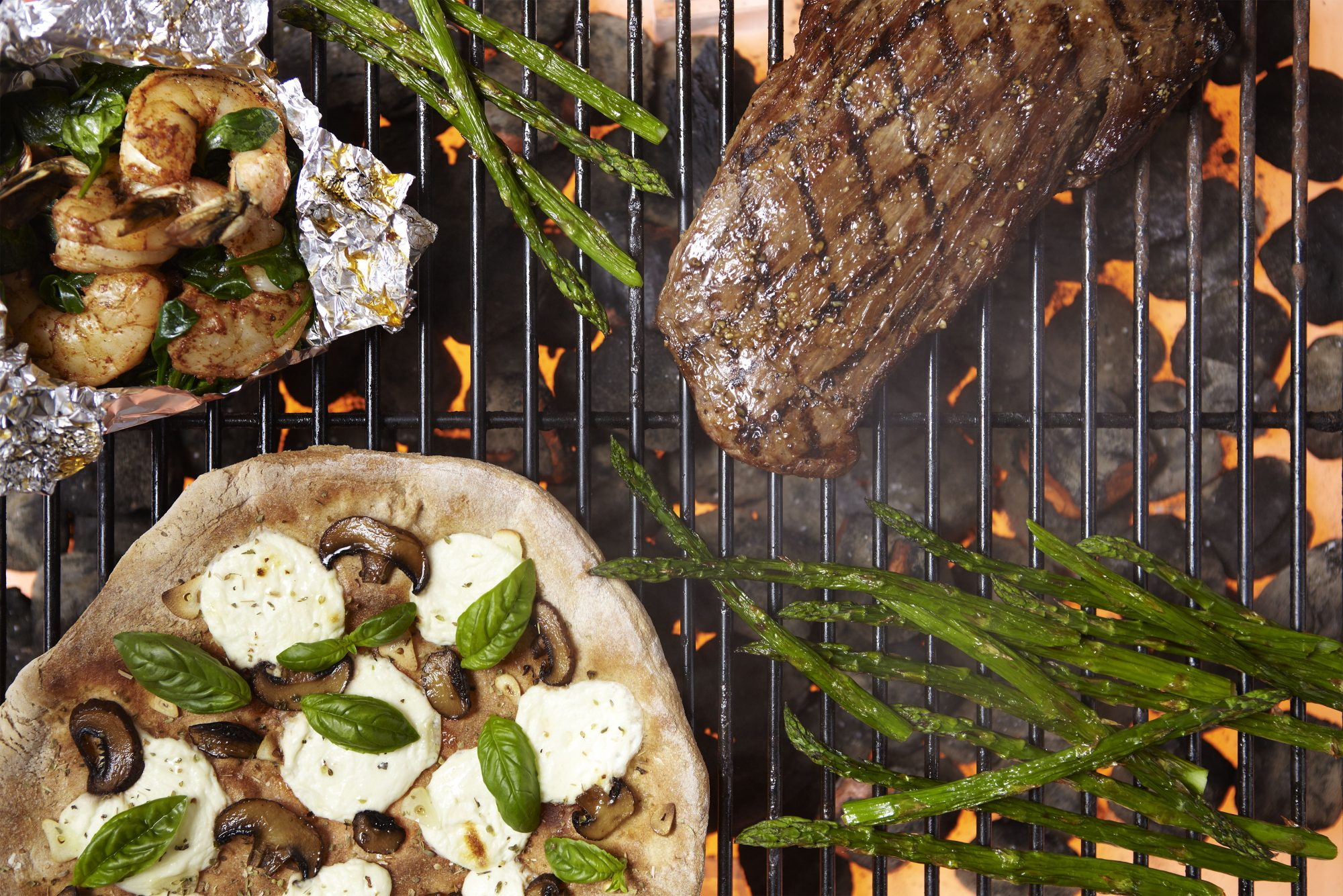 overhead grilling image