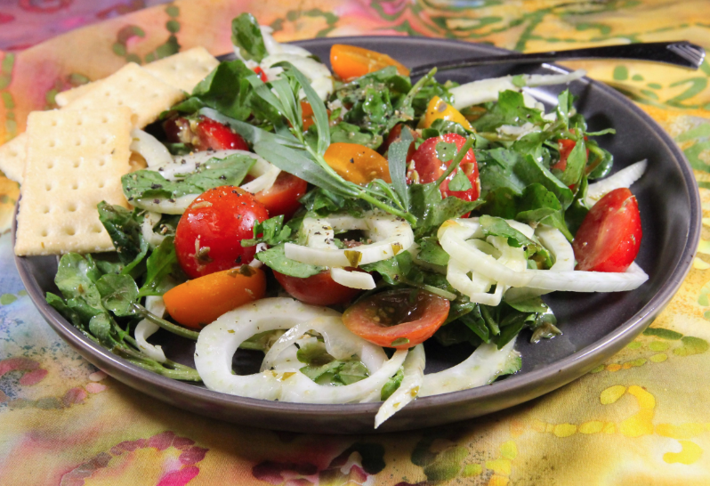 Tomato, Fennel and Watercress Salad