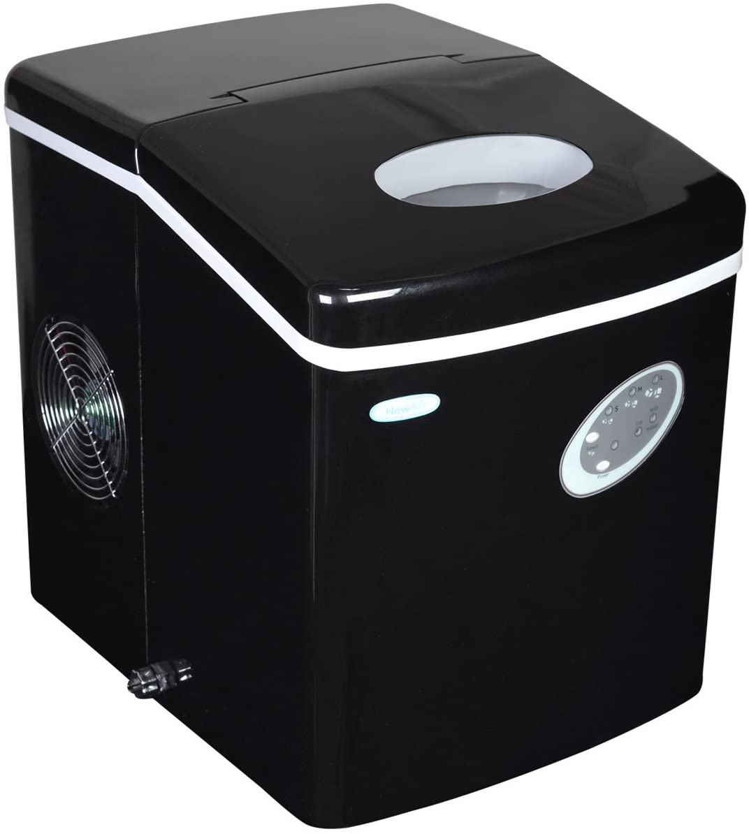 NewAir Portable Countertop Ice Maker on a white background
