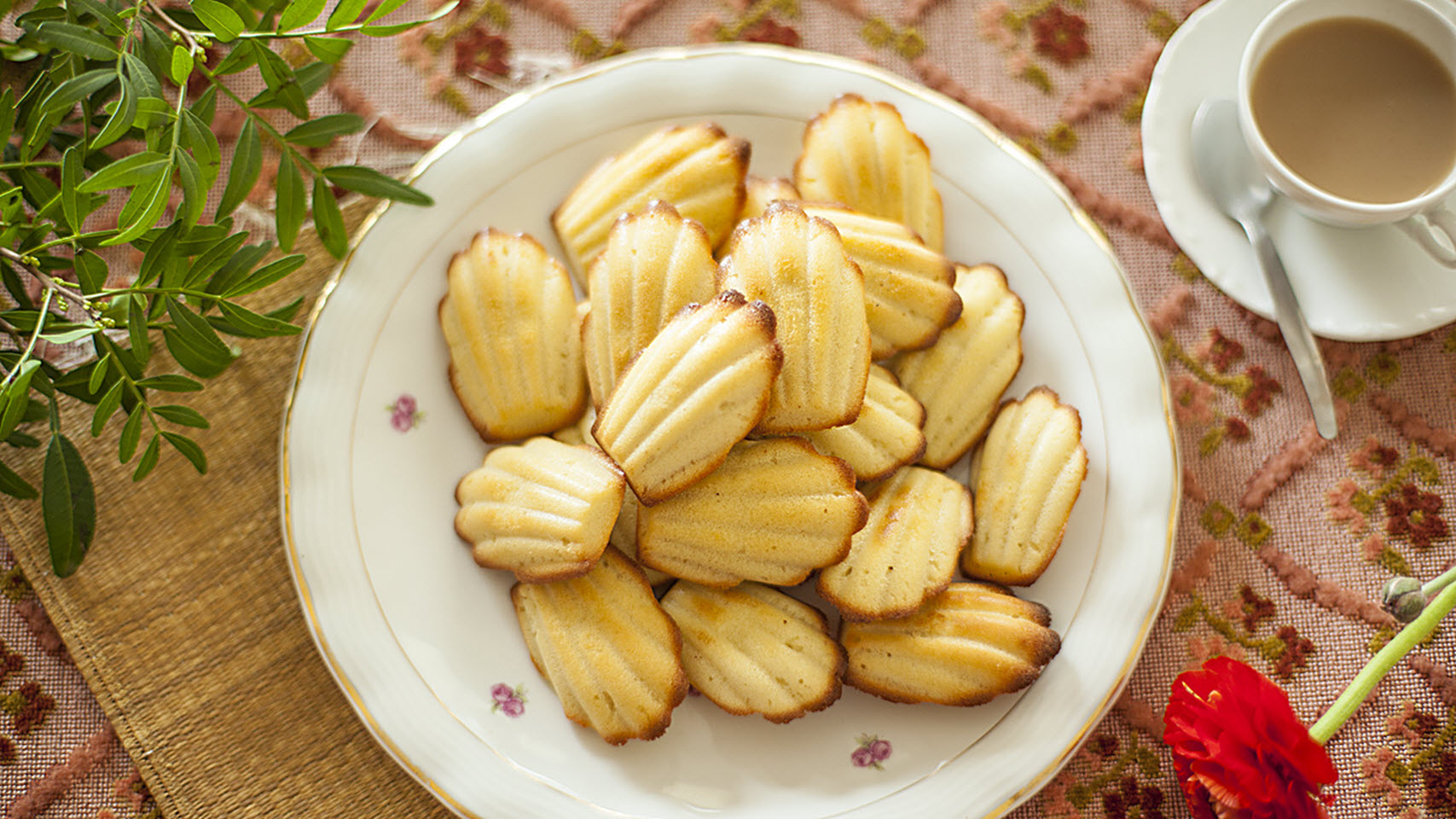 """With accurate baking times and temperatures, this foolproof recipe shows you how to bake a batch of classic French Madeleine cookies. You can use metal molds instead of silicone molds, if you prefer - grease well with butter and dust with flour. """"Wow"""", says home cook Kaththee1, """"these came out perfectly my very first try."""""""