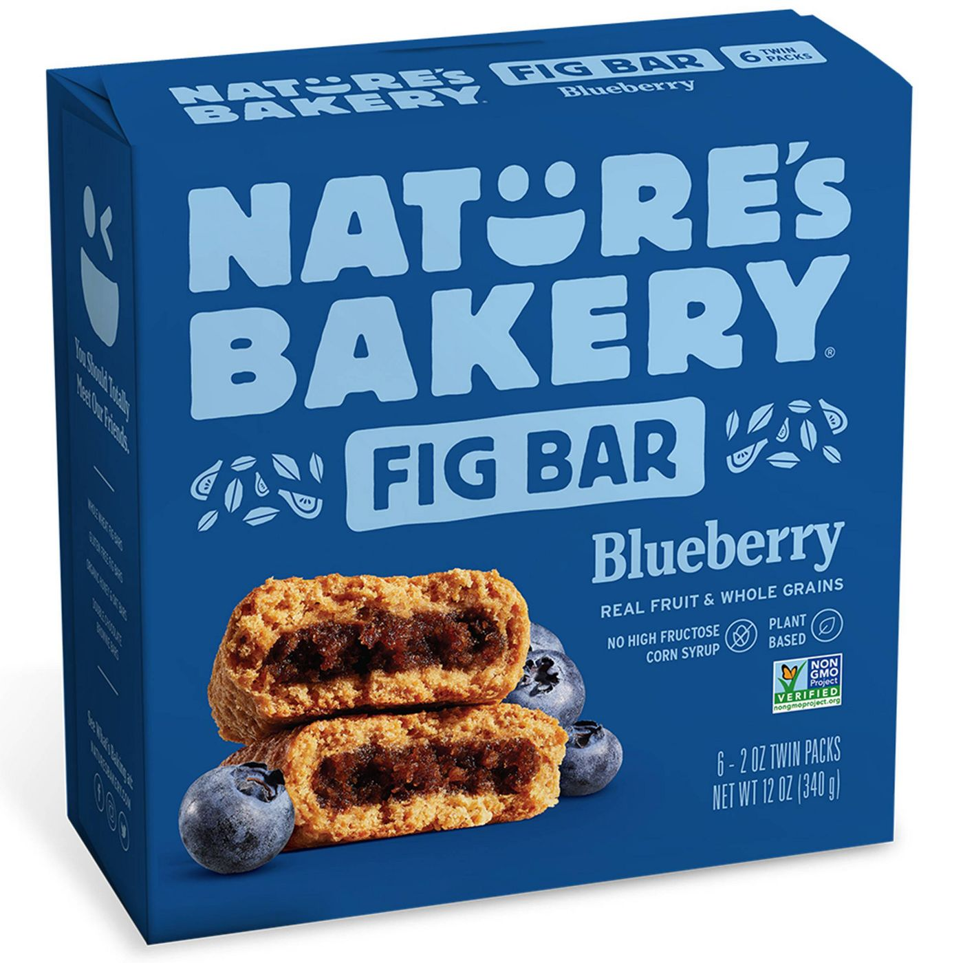 box of Nature's Bakery Blueberry Fig Bar