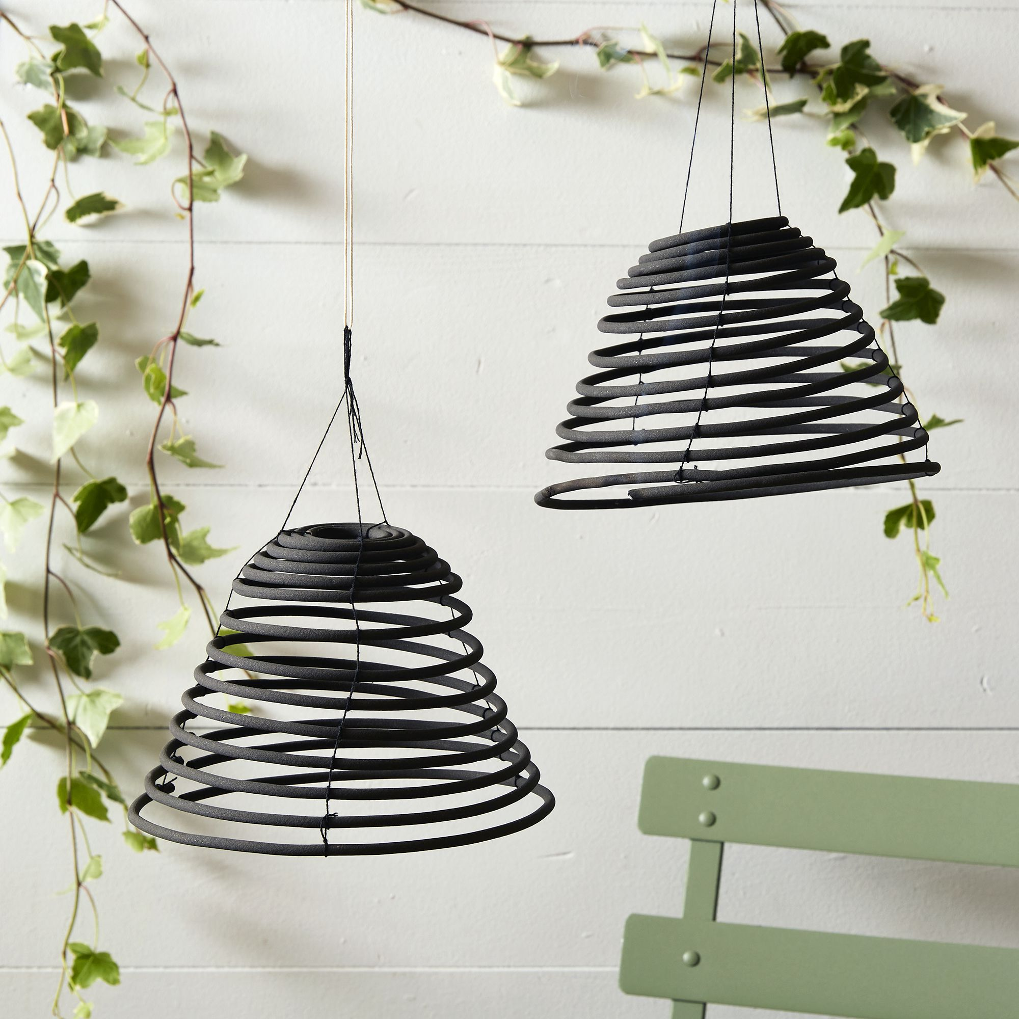 two citronella hanging coils