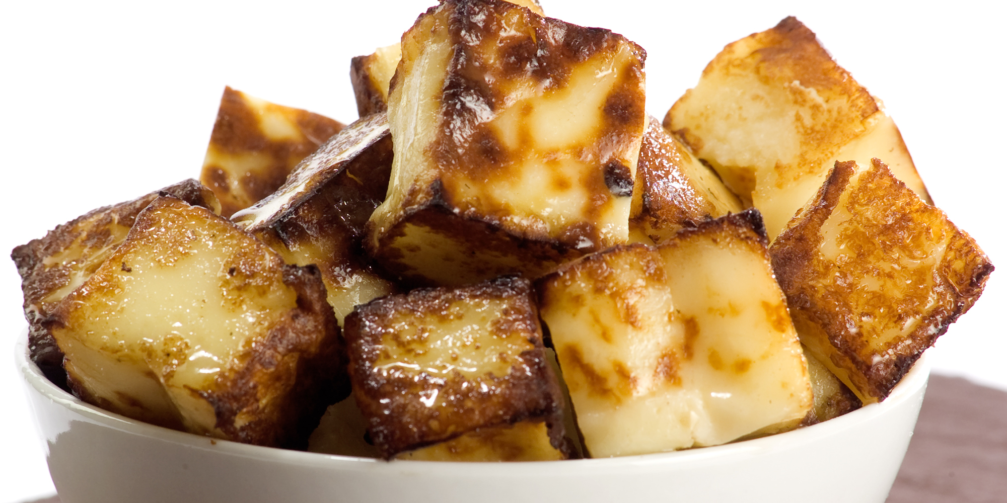 tight shot toasted bread cheese cubes