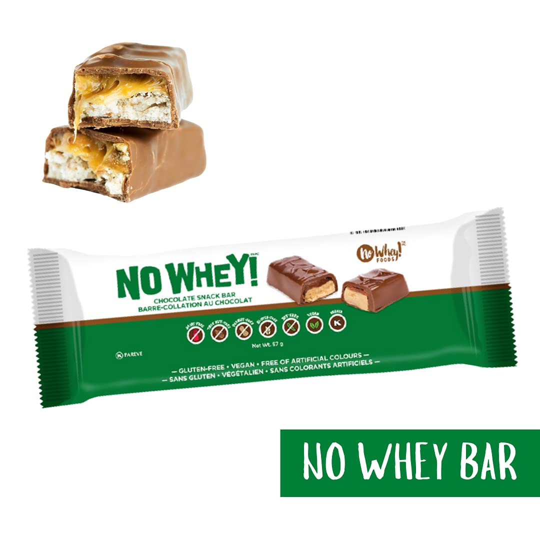 Package of No Whey chocolate bar