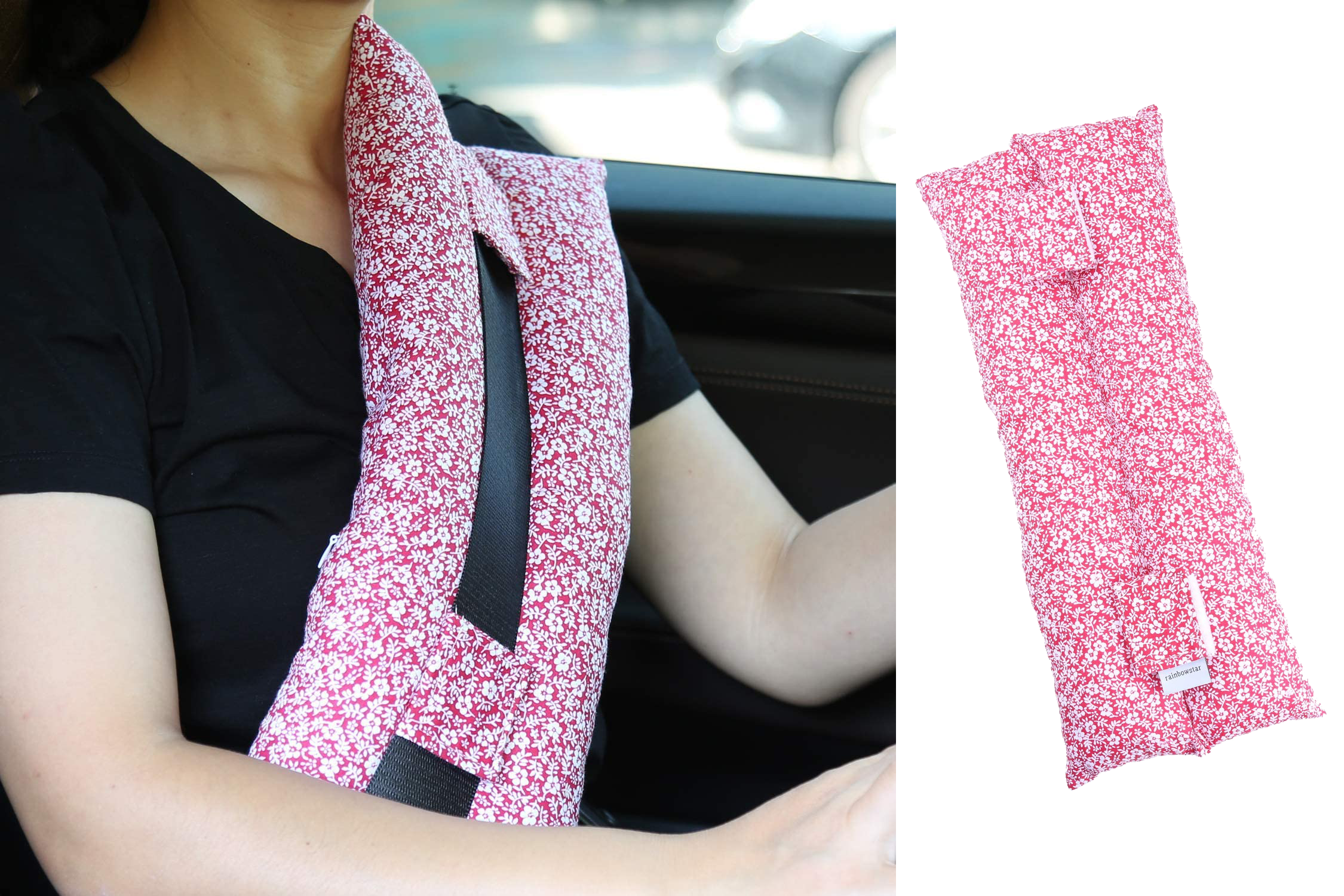 Seatbelt Pillows for Post-Surgery Comfort Mastectomy Breast Cancer