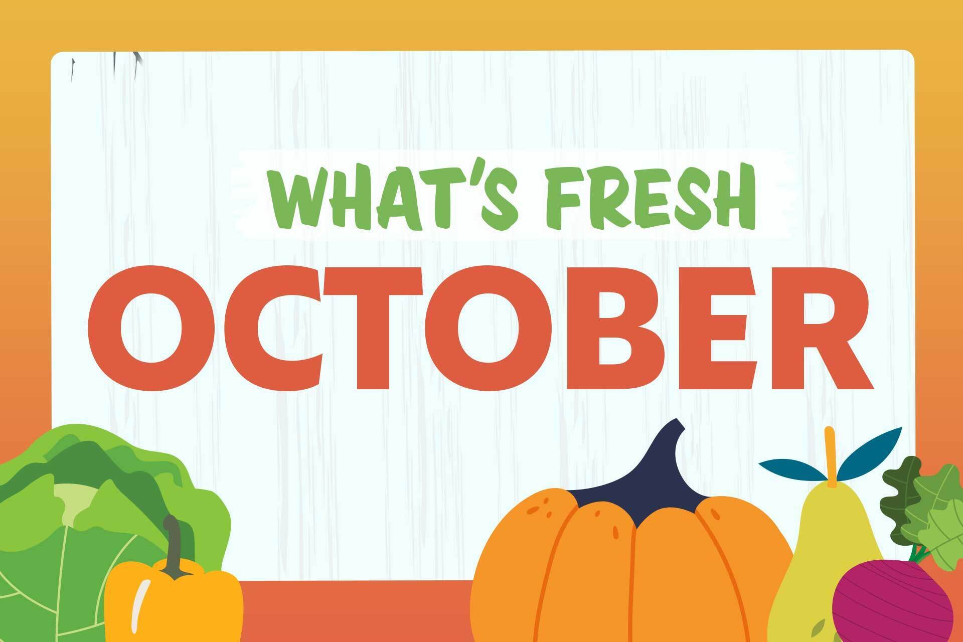 October Produce Guide: What's In Season Now?