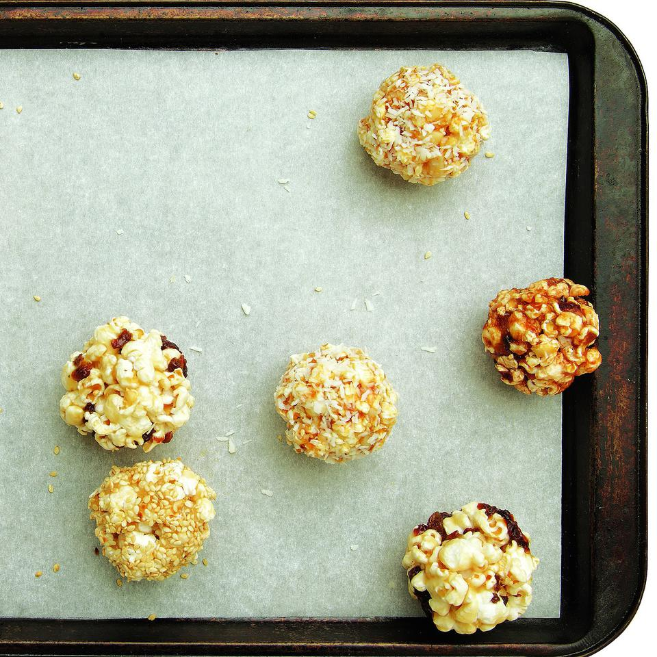 Healthy Popcorn Ball Recipes