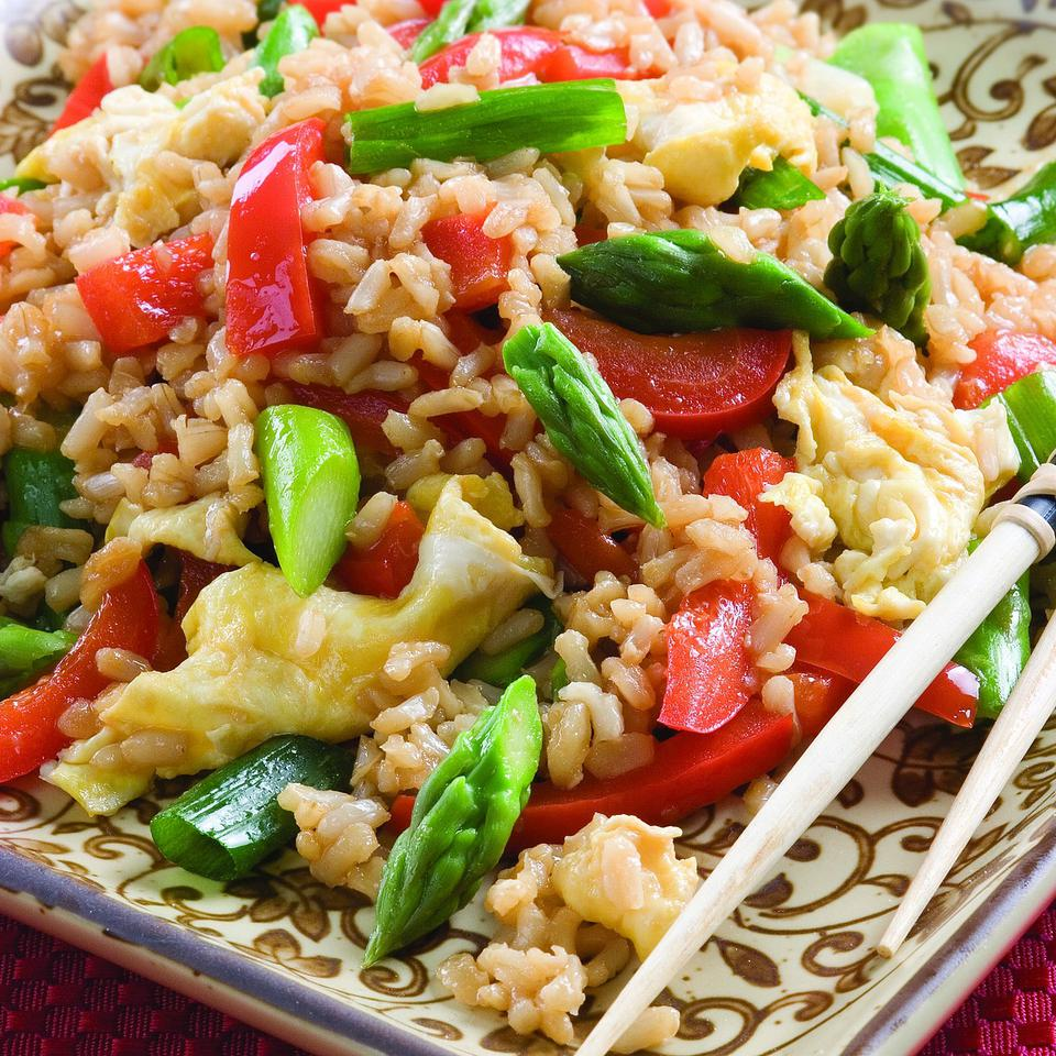 Healthy Vegetarian Fried Rice Recipes