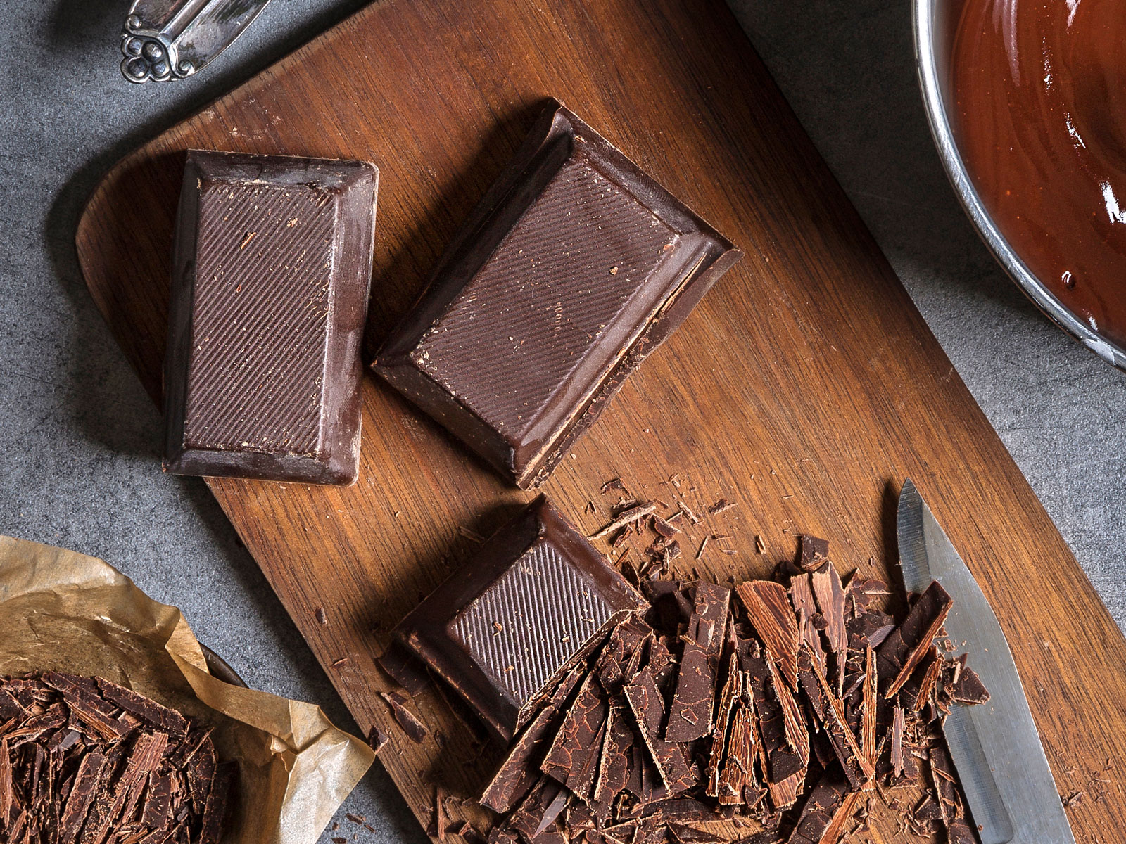 Chefs Don't Refrigerate Chocolate