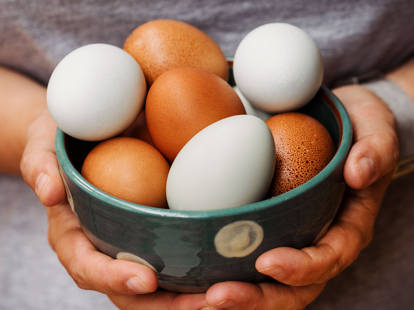 Chefs Don't Refrigerate Eggs