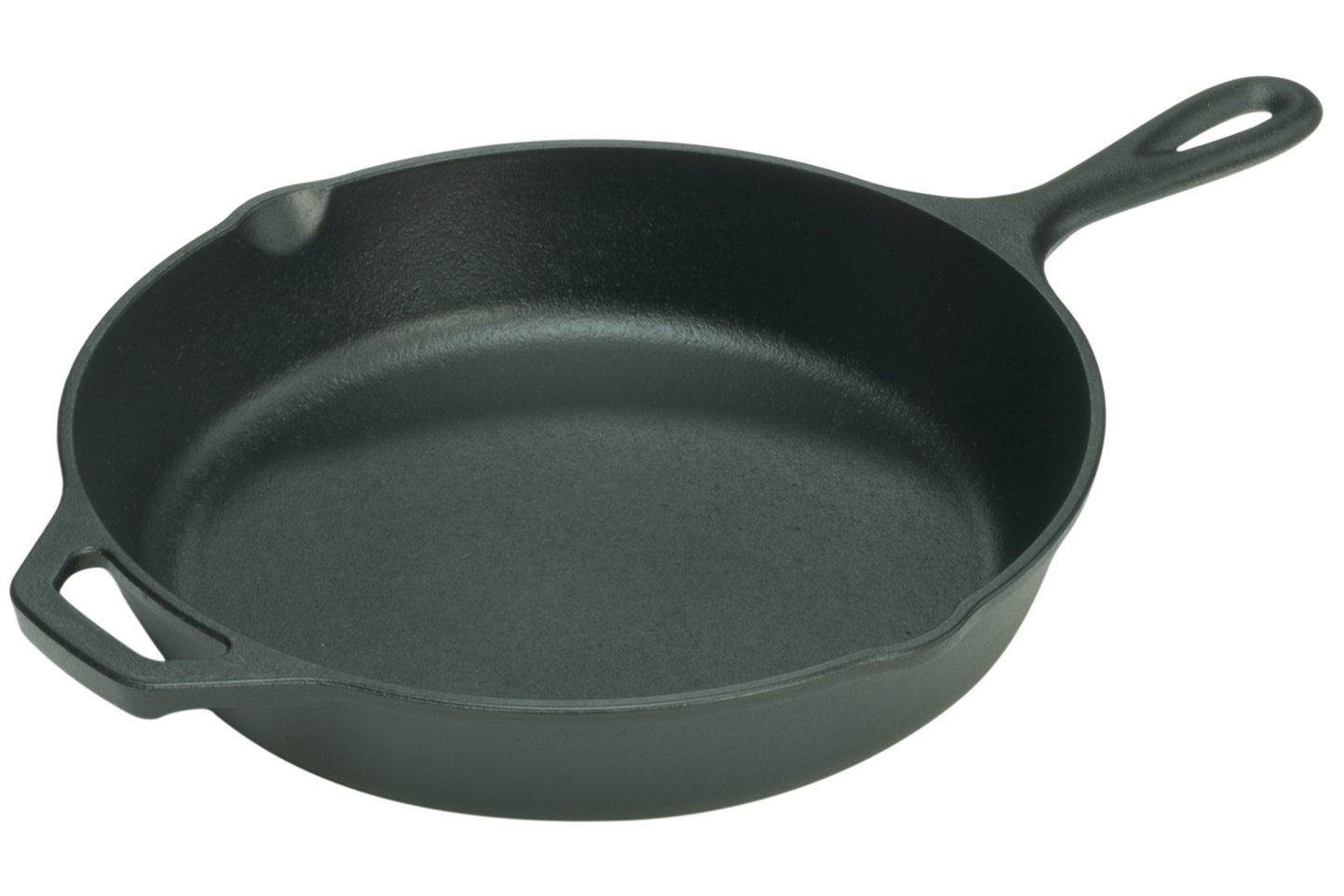 """Lodge Seasoned Cast Iron 13.25"""" Skillet with Assist Handle"""
