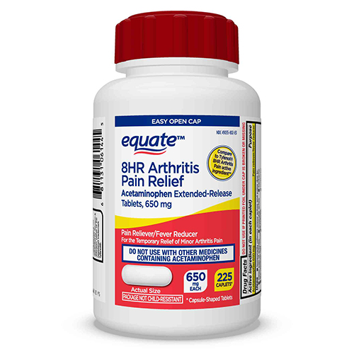 Equate Acetaminophen Extended-Release Tablets