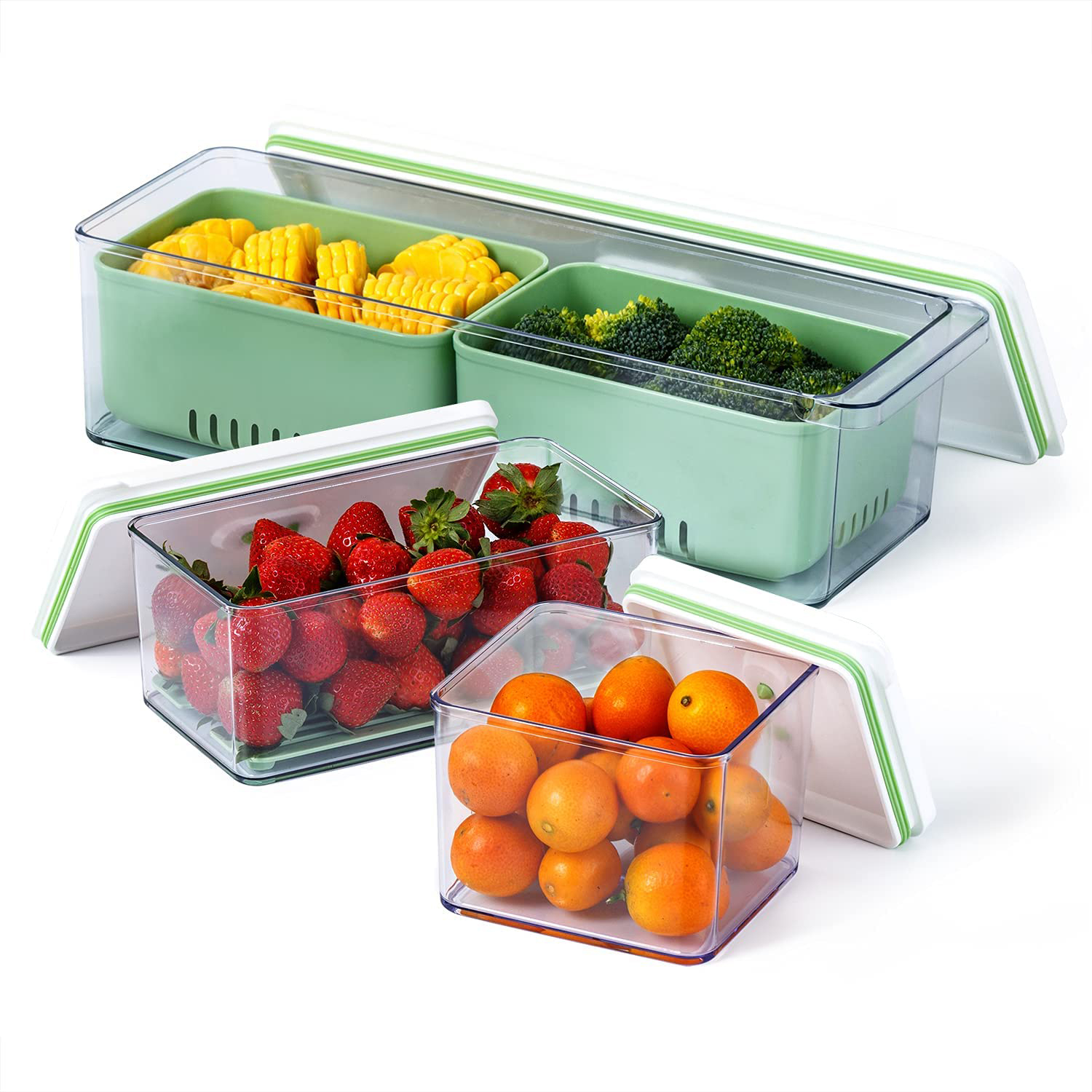 Lille Home Stackable Produce Saver