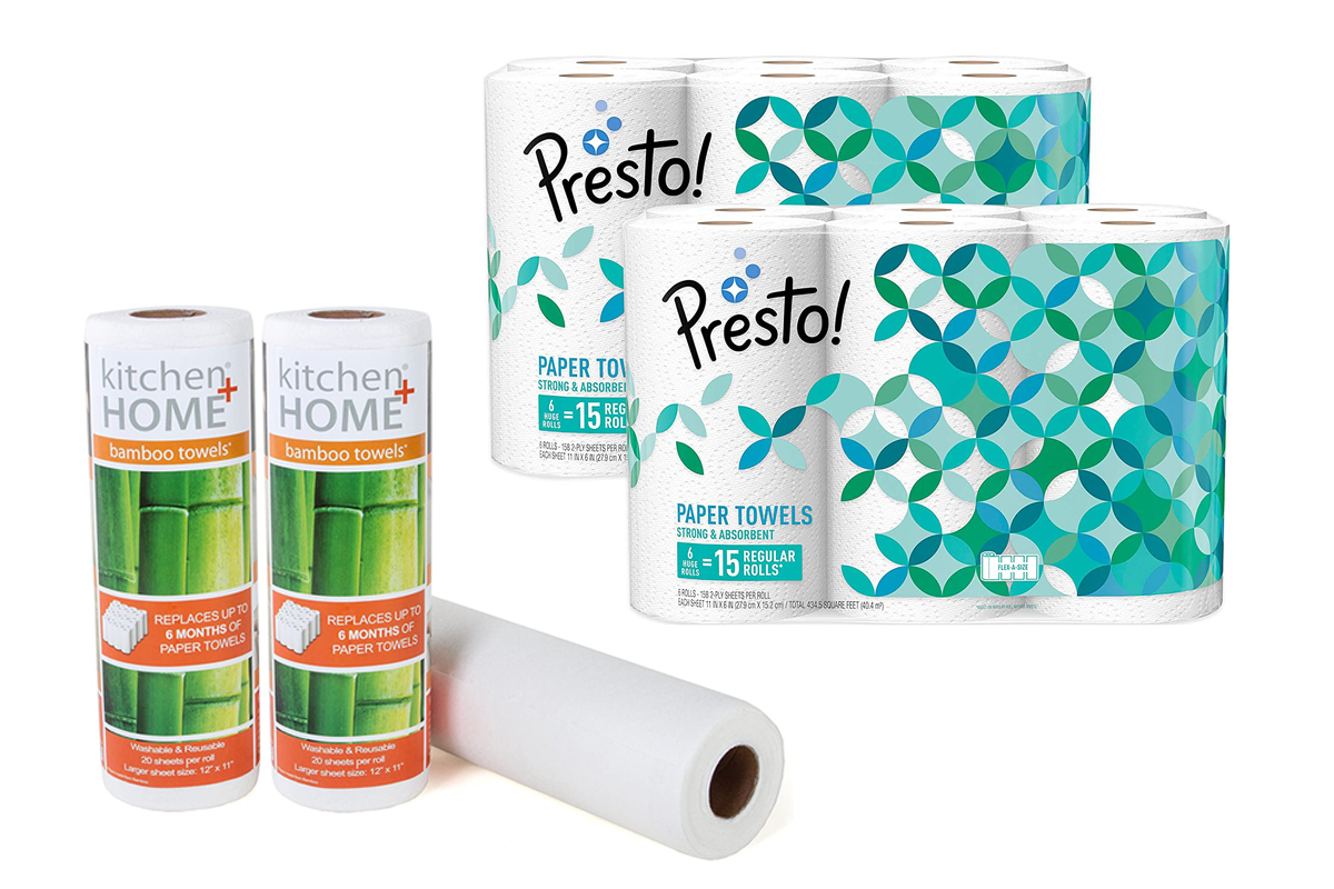 Paper Towels Are Selling Out Fast — Here Are 9 Options Still in Stock on Amazon