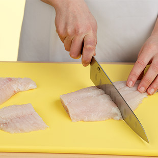 Step 1: Divide Fish Into Equal Portions